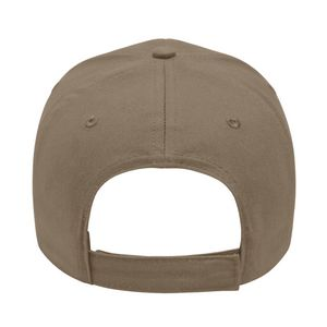 Khaki Beige/Black Back View Blank