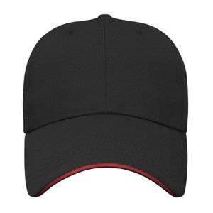 Black/Red Front View Blank