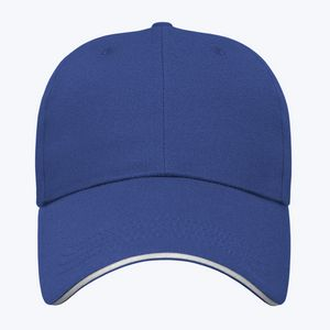 Royal Blue/White Front View Blank