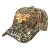 Washed Camo Twill w/Accents Cap
