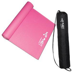Pink (mat) Black (carry bag)