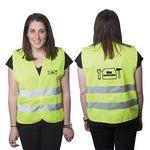 Custom Highviz Large Safety Vest