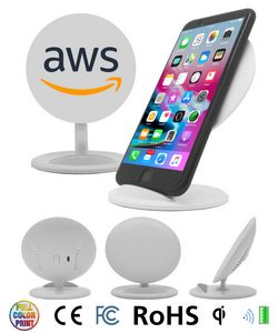 QI wireless charger Phone Stand - Full Color