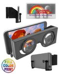 Custom Union Printed, 3D VR Virtual Reality Glasses - Full Color