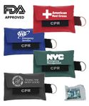 Custom CPR Shield Pouch with Attached Key-Chain - FDA APPROVED!
