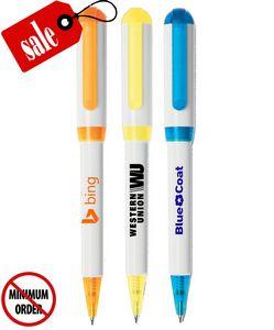 Closeout USA Made Elegant Colored Twist Promo Pen - No Minimum