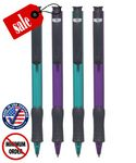 Custom Closeout USA Made Frosted Colored Click Pen - No Minimum