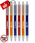 Custom Closeout USA Made Frosted Click Promo Pen - No Minimum