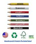 Custom USA Made, Round Golf Pencil