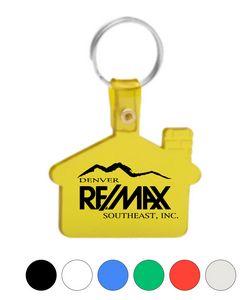 House soft key tags Keychain