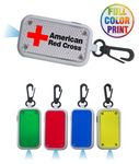 Custom Flashing LED Safety Reflector Flashlight - Full Color