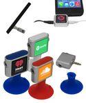 Custom Phone Stand w/Headphones Splitter - Full Color