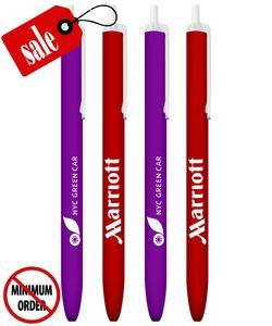 Promotional Click Pen - Colored Barrel