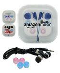Custom Earphones w/Case & Interchangeable Earbuds