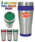 Custom 16 Oz. Stainless Steel Insulated Travel Mug