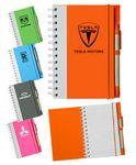 Custom Eco Spiral Notebook w/Pen