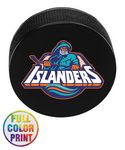 Custom Hockey Puck Stress Ball - Full Color