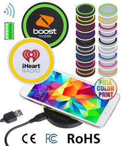 QI wireless charger pad - Full Color