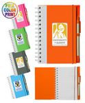 Eco Spiral Notebook w/Pen- Full Color