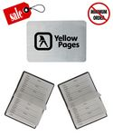 Custom Address Book w/Magnetic Closure