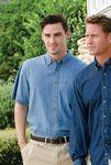 Jonathan Corey Adult 6.5 Ounce Short Sleeve Denim Shirt