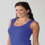 Custom LAT Ladies' Combed Ringspun Jersey Tank Top