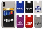 Custom Special Pricing !... Dual Pocket Silicone Mobile Phone Wallet