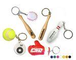 Custom Sports Balls Keychain