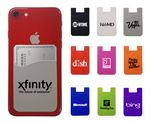 Custom Silicone Mobile Phone Wallet - * 1 Free Setup Special $45/v *