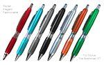 Custom Fashion Ballpoint Pen With Comfort Grip & Stylus