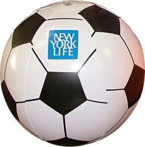 Custom Printed Soccer Beach Balls