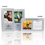 Custom Photo Frame Perpetual Calendar with Black Velvet Backing (2.5