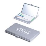 Custom 2-in-1 Business Card Case and Compact Mirror