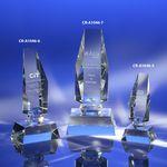 Custom Slice of Life Crystal Award 7-1/2