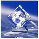 Custom World in a Diamond Crystal Globe Award