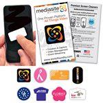 PLUSWIPE Full Color Microfiber digi cleaner Screen Cleaner Oval A-Series