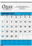 Custom Contractor Calendar w/1 Image & 1C Imprint (18