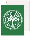 Wide Ruled Composition Notebook w/1 Color (8 1/2