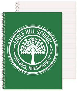 Promotional Product - Wide Ruled Composition Notebook w/1 Color (8 1/2