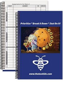 Weekly Assignment Planner Book (5 3/4 x 8 3/8)
