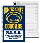 Custom Daily Assignment Planner Book (6 3/4