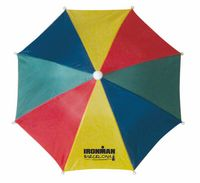 "RSHUB - Blank, 24"" arc, hat umbrella - the umbrella you wear! multi-color only, unimprinted"