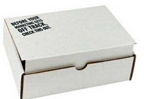 Custom Imprinted Cardboard Tuck Boxes!