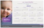 Custom Counter Mat Calendar/Schedule/Info sheet (11