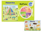 Custom My Plate Healthy Eating Placemat Set w/ Repo Sheet