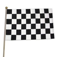"Checkered Race Flag (12""x18"")"