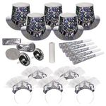 Custom Sterling Happy New Year's Party Kit for 10