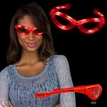 Light Up Red Flashing Glasses