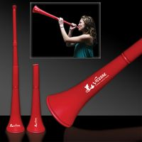 """28"""" Red Collapsible Stadium Horn"""