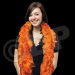 Custom 6' Orange Solid Color Boa